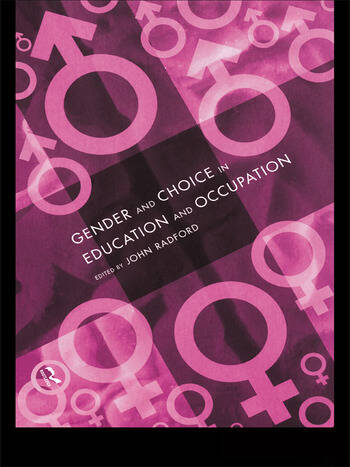 Gender and Choice in Education and Occupation book cover