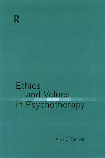 Ethics and Values in Psychotherapy book cover