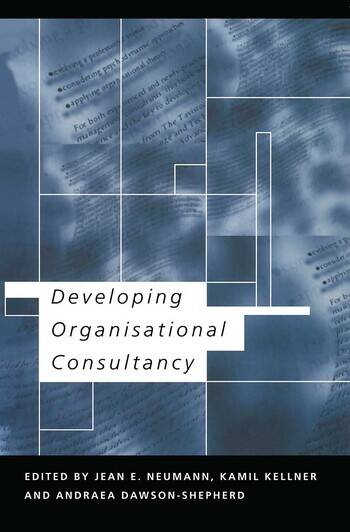 Developing Organisational Consultancy book cover