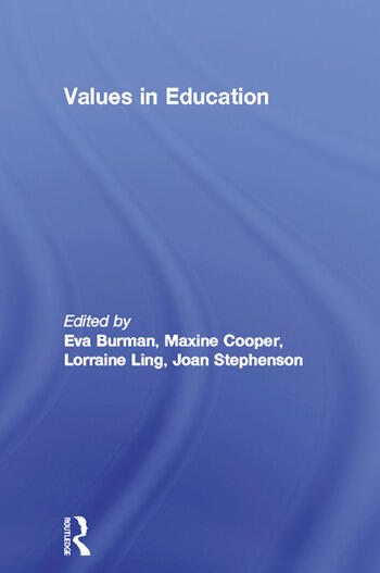 Values in Education book cover