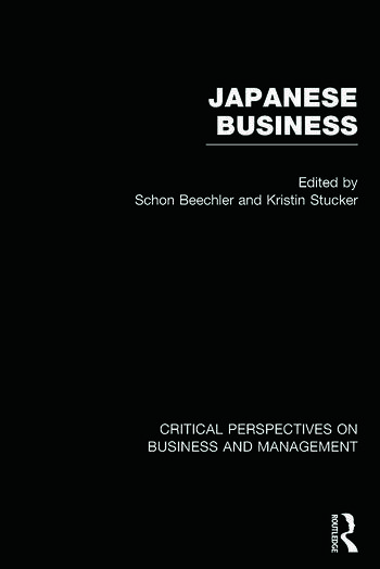 Japanese Business Critical Perspectives on Business and Management book cover