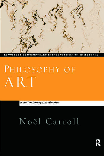 Philosophy of Art A Contemporary Introduction book cover
