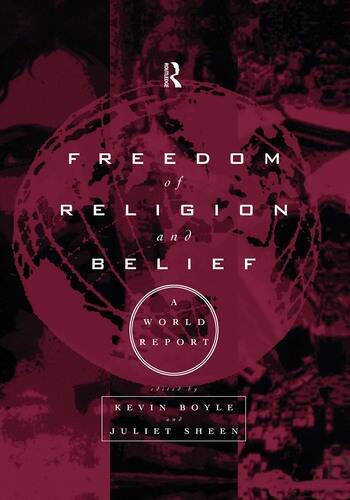 Freedom of Religion and Belief: A World Report book cover