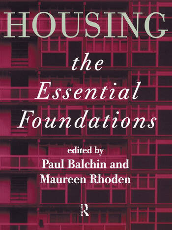 Housing: The Essential Foundations book cover