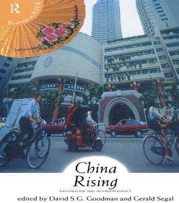 China Rising Nationalism and Interdependence book cover