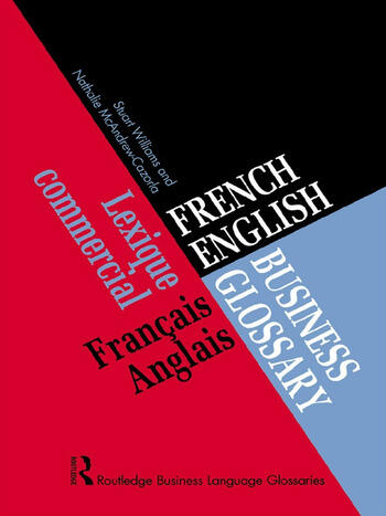 French/English Business Glossary book cover