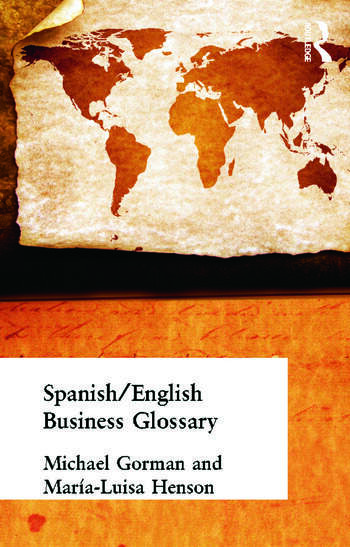 Spanish/English Business Glossary book cover