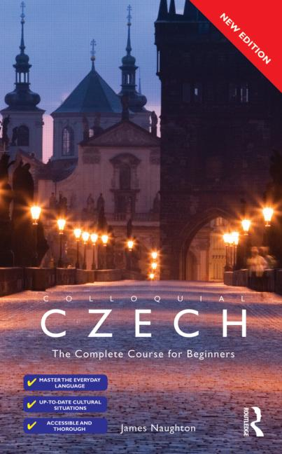 Colloquial Czech The Complete Course for Beginners book cover
