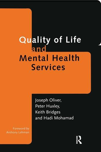 Quality of Life and Mental Health Services book cover