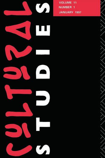 Cultural Studies 11.1 book cover