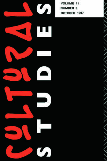 Cultural Studies 11.3 book cover