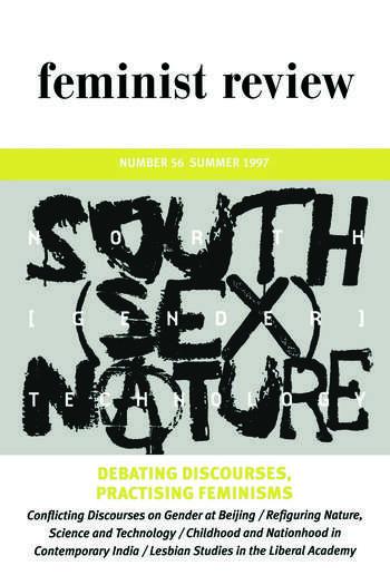 Debating Discourses, Practising Feminisms Feminist Review, Issue 56 book cover