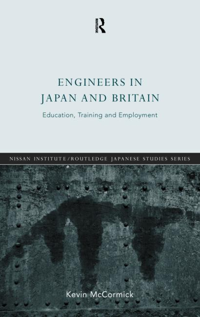 Engineers in Japan and Britain Education, Training and Employment book cover
