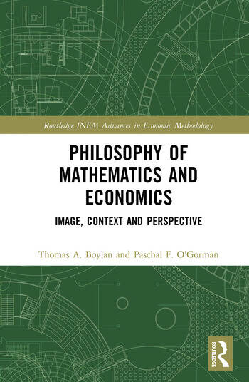 Philosophy of Mathematics and Economics Image, Context and Perspective book cover