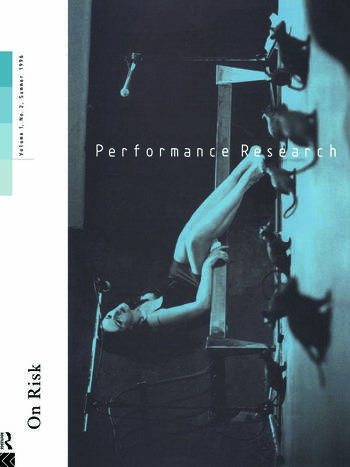 Performance Research V1 Issu 2 book cover