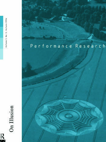 Performance Research 1.3 book cover