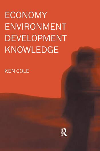 Economy-Environment-Development-Knowledge book cover