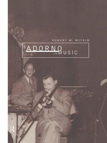 Adorno on Music book cover