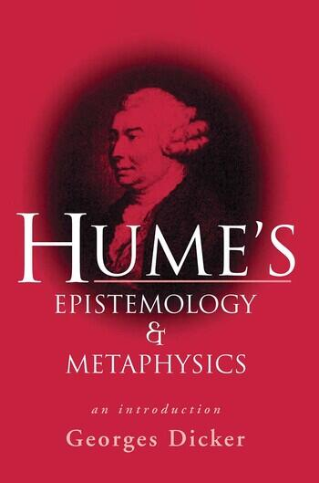 Hume's Epistemology and Metaphysics An Introduction book cover