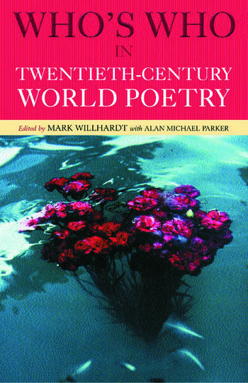 Who's Who in Twentieth Century World Poetry book cover