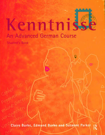 Kenntnisse An Advanced German Course book cover