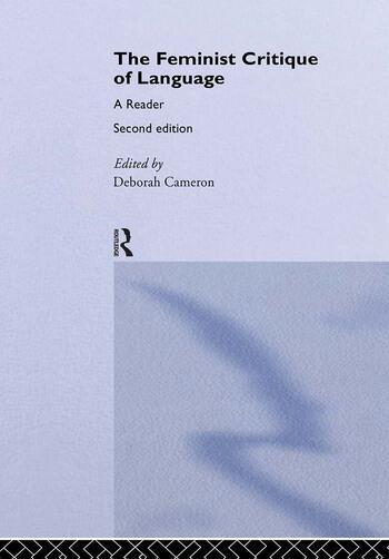 Feminist Critique of Language second edition book cover