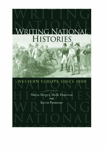 Writing National Histories Western Europe Since 1800 book cover