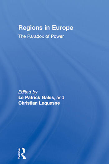 Regions in Europe The Paradox of Power book cover