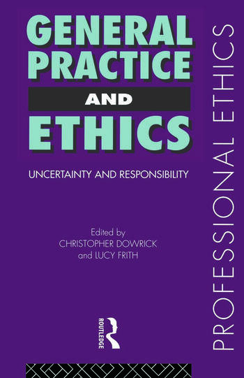 General Practice and Ethics book cover