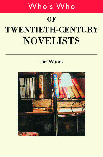 Who's Who of Twentieth Century Novelists book cover