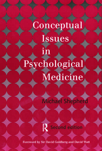 Conceptual Issues in Psychological Medicine book cover