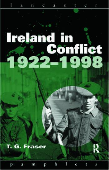Ireland in Conflict 1922-1998 book cover