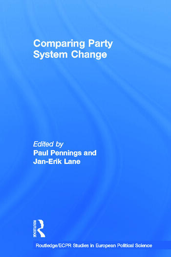 Comparing Party System Change book cover