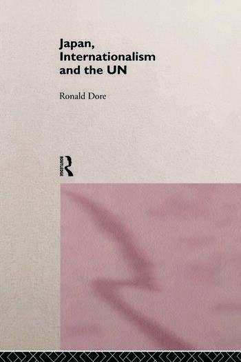 Japan, Internationalism and the UN book cover
