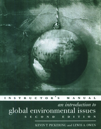 An Introduction to Global Environmental Issues Instructors Manual book cover