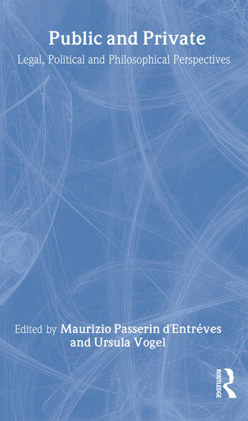 Public and Private Legal, Political and Philosophical Perspectives book cover