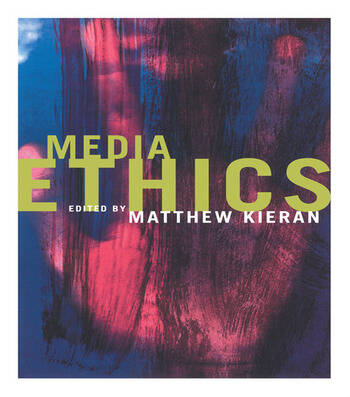 Media Ethics book cover