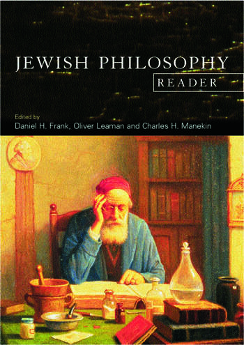 The Jewish Philosophy Reader book cover