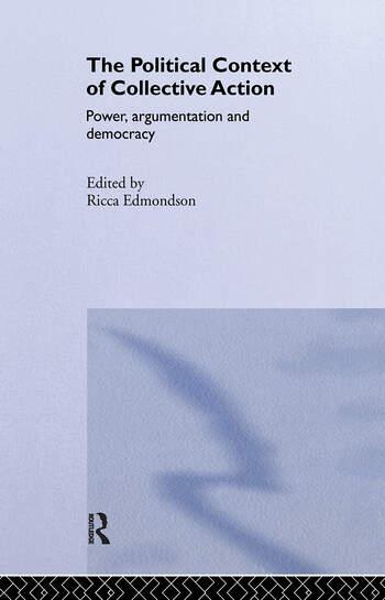 The Political Context of Collective Action book cover