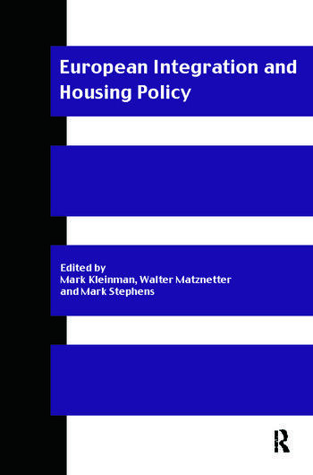European Integration and Housing Policy book cover