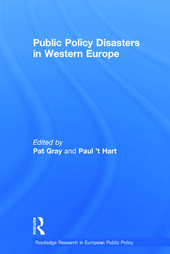Public Policy Disasters in Europe book cover