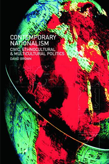 Contemporary Nationalism book cover