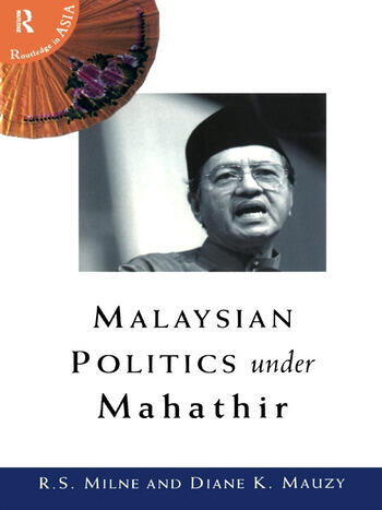 Malaysian Politics Under Mahathir book cover
