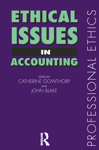 Ethical Issues in Accounting: 1st Edition (Paperback