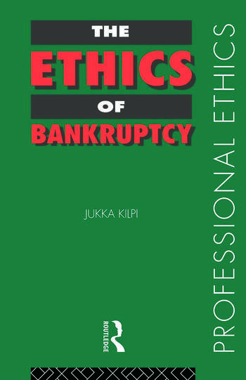 The Ethics of Bankruptcy book cover