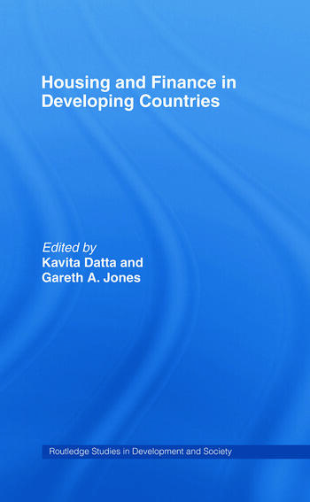 Housing and Finance in Developing Countries book cover