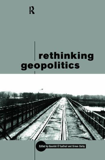 Rethinking Geopolitics book cover