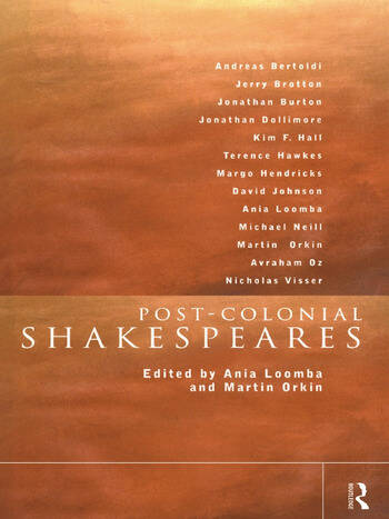 Post-Colonial Shakespeares book cover