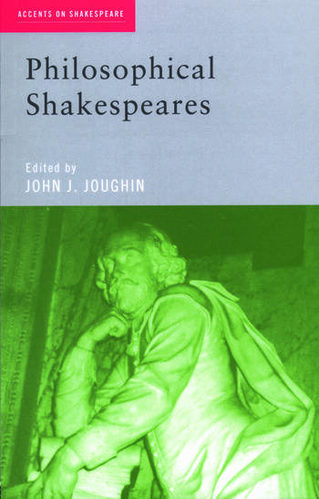 Philosophical Shakespeares book cover