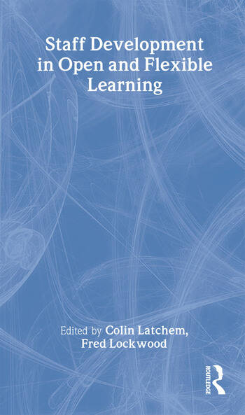Staff Development in Open and Flexible Education book cover